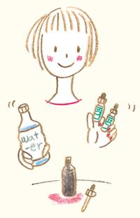 飲み物に入れて飲む